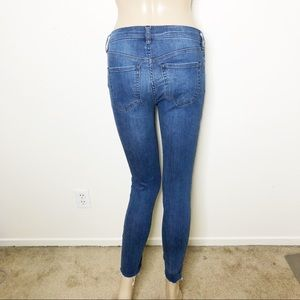 Free People Jeans - Free People Reagan Button Front Skinny Jeans